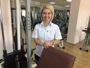 Ефанова Екатерина — Реабилитационный зал